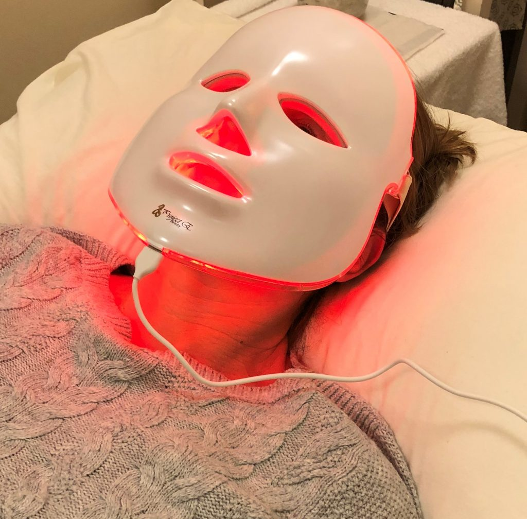 Red LED Facial Treatment